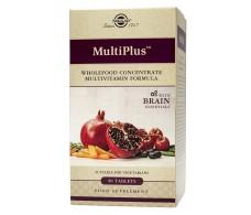 Solgar Brain Multiplus 90 tablets.
