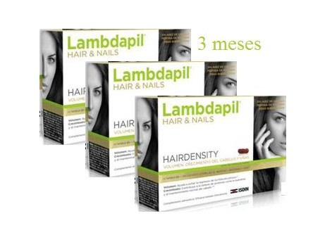 Lambdapil Hairdensity 3x 60 capsules. Pack 3 months