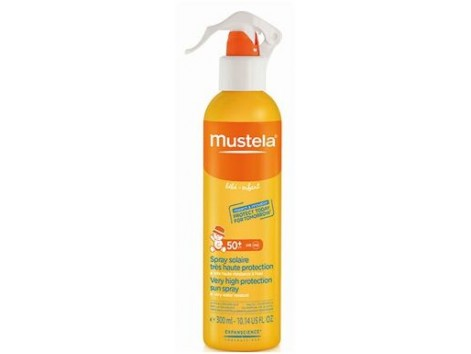 Mustela Sun Protection Face & Body Spray SPF 50 200ml.