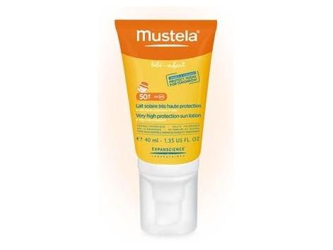 Mustela Facial Sun Cream SPF 50 40ml special.