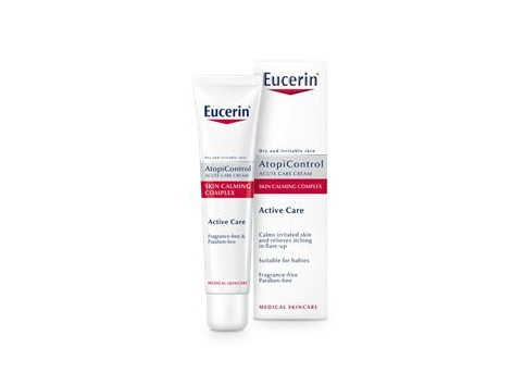 Eucerin AtopiControl Forte Cream 40ml dry irritated skin.