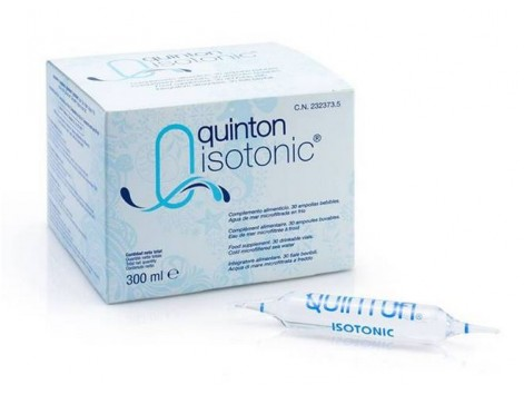 Quinton Isotonic - Isotonic 30 ampoules