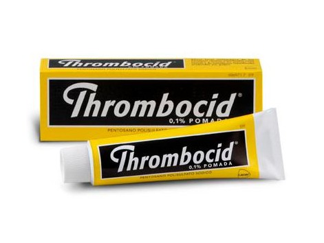 Thrombocid ointment 1 mg / g tube 60 grams