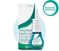 Respibien freshmint 0.5 mg / ml 15ml nasal solution.