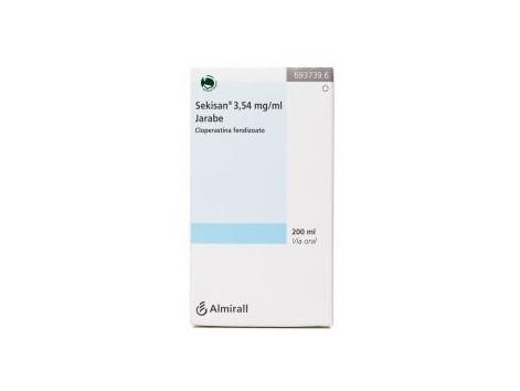 Sekisan 3.54 mg / ml Syrup 200 ml.