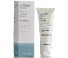 Young Acnises sesderma Gel Facial Cream 50 ml grease skin.