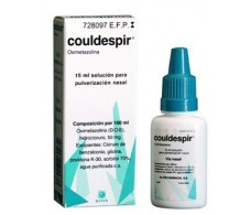 Couldespir nasal spray 15ml.
