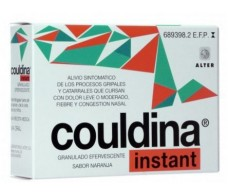 Instant Couldina aspirin effervescent granulate 20 envelopes