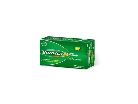 Berocca Performance 30 coated tablets. Bayer