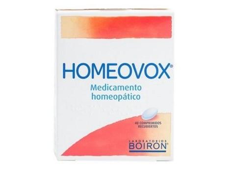 Homeovox 40 tablets. Homeopathy Boiron