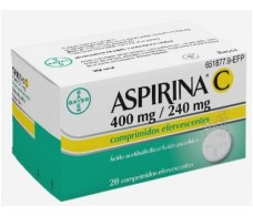 Aspirin C 400 mg / 240 mg 20 Effervescent tablets