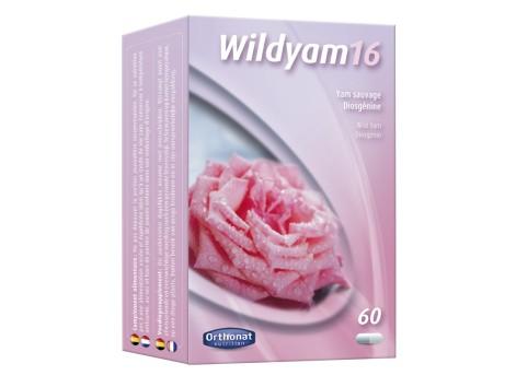 Wild Yam 16 Orthonat 60 caps.