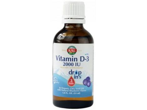 KAL Vitamina D3 53ml.