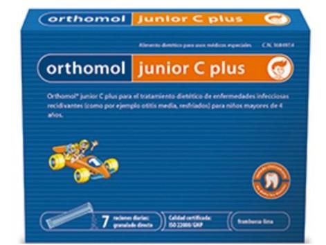 Orthomol Junior C Plus 7 envelopes granulated