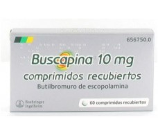 Buscapina 60 coated tablets 10mg