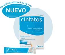 Cinfatós 15 mg oral solution 18 envelopes