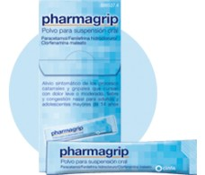 Pharmagrip powder for oral suspension 10 envelopes