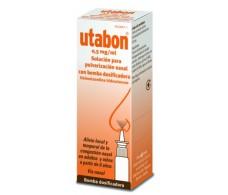 Utabon 0.5 mg / ml solution for nasal spray with dosing pump 15ml.