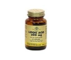 Solgar Alpha Lipoic Acid 200mg. 50 vegetable capsules