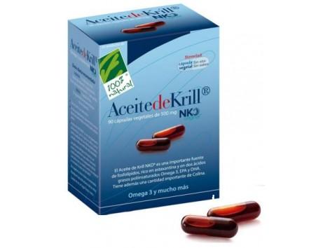 NKO Krill Oil 80cápsulas vegetales 100% Natural.