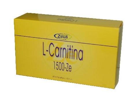 L-Carnitine 1500-Ze 30 blisters. Zeus