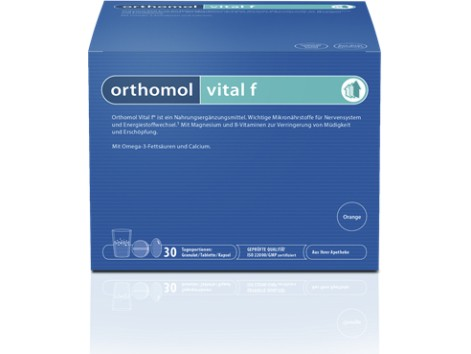 Orthomol Vital F 30 granulated envelopes