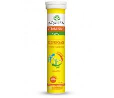 Aquilea with Vitamin C + Zinc 14 effervescent tablets