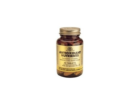 50 tablets Solgar Antioxidant Nutrients