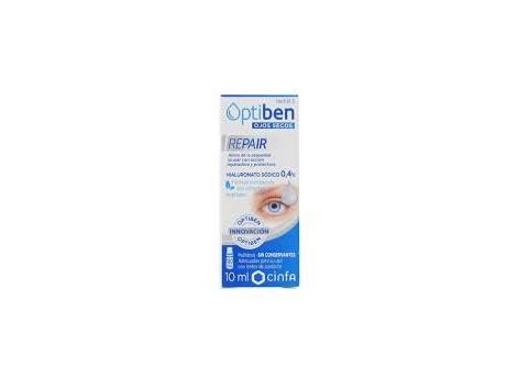 OPTIBEN Ojos Secos. REPAIR 10 ml