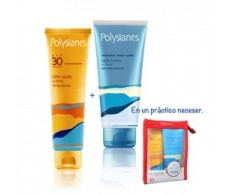 Polysianes pack Gel nacarado SPF 30 125ml + Aftersun de regalo 200ml