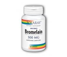 Bromelain Solaray Solaray. 60 capsules. Bromelain 500mg.