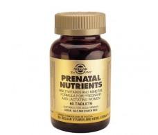 Solgar Prenatal Nutrients. 60 tablets