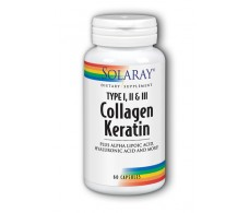 Keratin Collagen Solaray 60 tablets