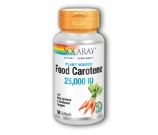 Solaray Solaray Food Carotene Carotene 30 pearls