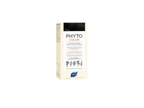 PHYTOCOLOR TINTE - 1 BLACK