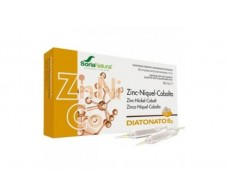 Soria Natural Diatonato 5-2 Zinc-Nickel-Cobalt 28 vials