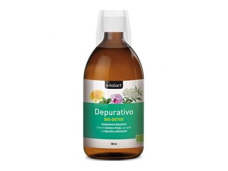 VITALART DEPURATIVE BIO-DETOX ECO 500 ml (formerly Santé Verte Draineur)