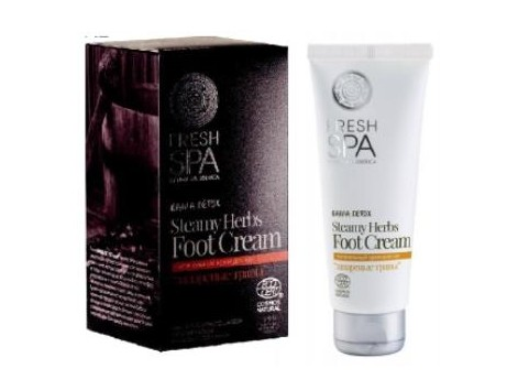 FRESH SPA STEAMY HERBS foot cream 75ml. NATURA SIBERICA