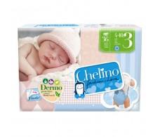 Chelino Love Pañal Talla 4,  9-15 Kg 34uds
