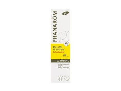 PRANAROM AROMAPIC BIO soothing roll-on soothing gel 15ml.