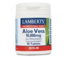 Lamberts Aloe Vera 10000 mg. 90 tablets. Lamberts