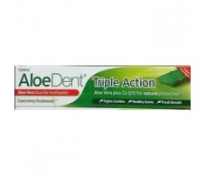 MADAL BAL. ALOEDENT triple action toothpaste with FLUOR 100ml.
