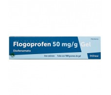Flogoprofen 50 mg / g gel 100 g