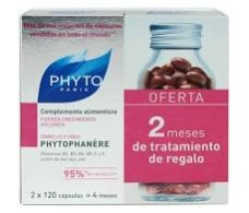 Phytophanere DUO 240 capsules. Hair Loss / nails