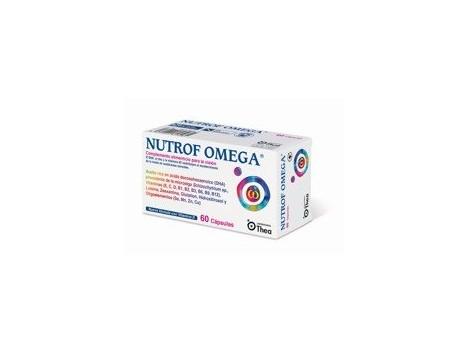Nutrof Omega 60 capsules. Thea