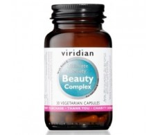 VIRIDIAN BEAUTY COMPLEX hair skin and nails 30cap.veg.