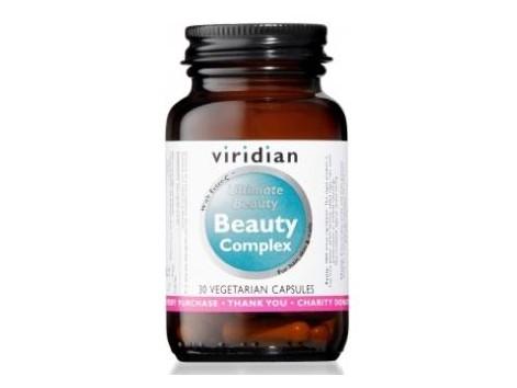 VIRIDIAN BEAUTY COMPLEX hair skin and nails 30cap.veg.