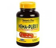 NATURES PLUS HEMA-PLEX II (delayed action) 60 tablets.