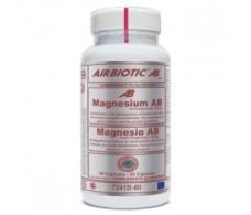 AIRBIOTIC MAGNESIUM bisglycinate 150mg. 60cap.