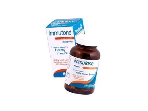 Health Aid 30 capsules Immutone. Shark liver oil